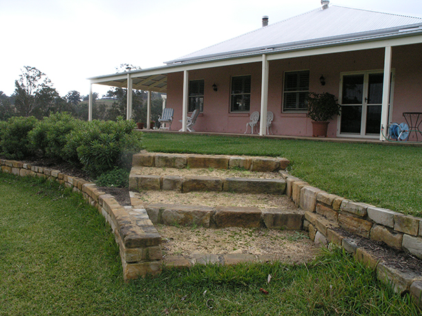 Gresford-Residence-Outside-Stairs