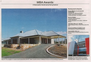 Newcastle Herald - Gosforth Residence